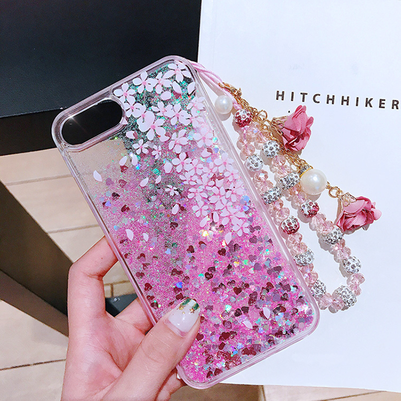 Perfect Glitter Flowing Sequins Cases Cover For iPhone 7 6 6S Plus IP6S15_4