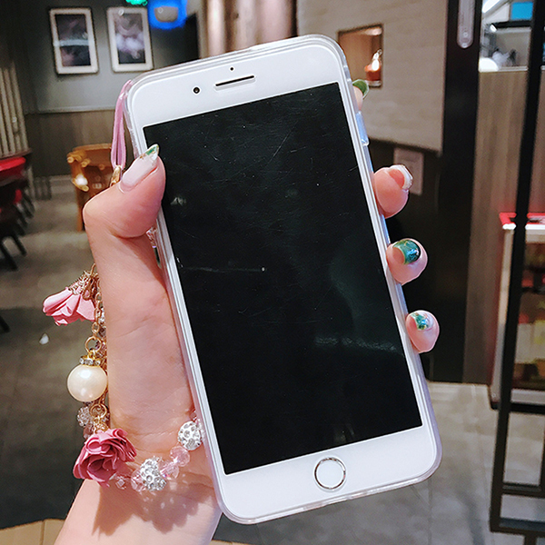 Perfect Glitter Flowing Sequins Cases Cover For iPhone 8 7 6 6S Plus IP6S15_6