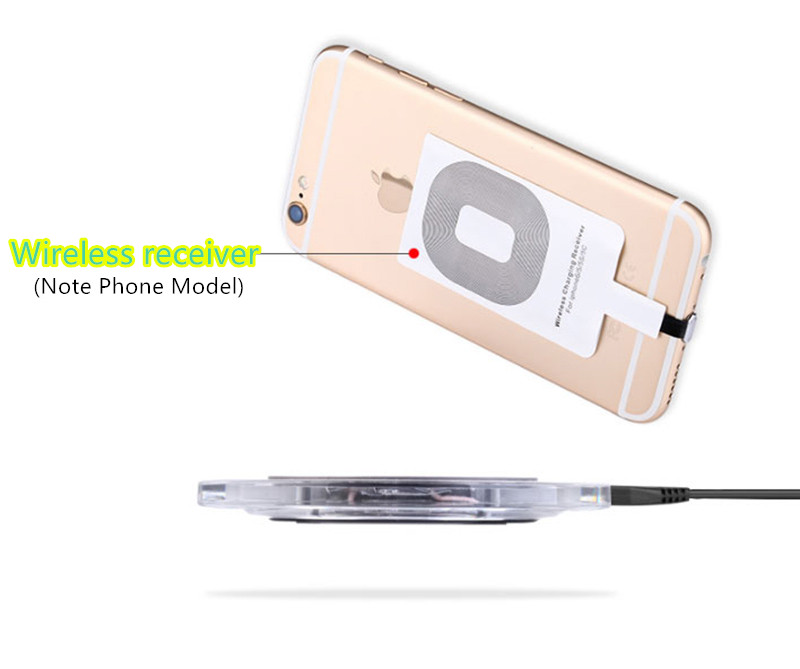 Universal Wireless Charging Receiver For iPhone X 8 S10 9 8 Note ICD06_2