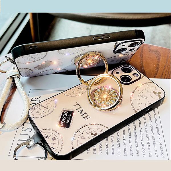 Diamond Glitter iPhone 11 Pro Max Silicone Case IPS712_5