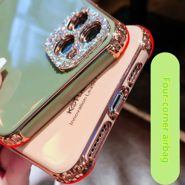 Diamond Glitter iPhone 11 Pro Max Silicone Case IPS712_6