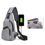 One Shoulder Leisure Messenger Backpack Chest Bag MFB06