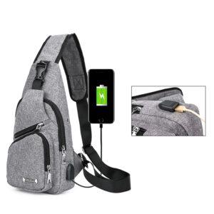 One Shoulder Leisure Messenger Backpack Chest Bag MFB06