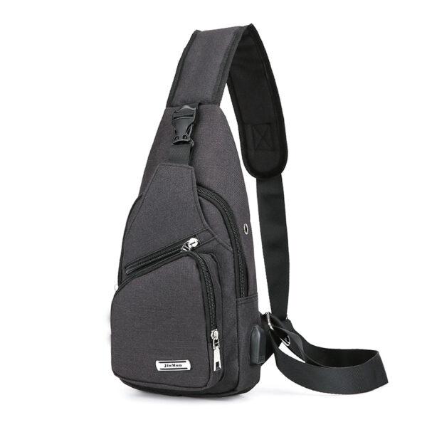 One Shoulder Leisure Messenger Backpack Chest Bag MFB06_2