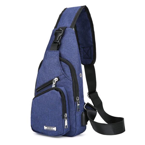 One Shoulder Leisure Messenger Backpack Chest Bag MFB06_3
