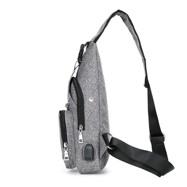 One Shoulder Leisure Messenger Backpack Chest Bag MFB06_4