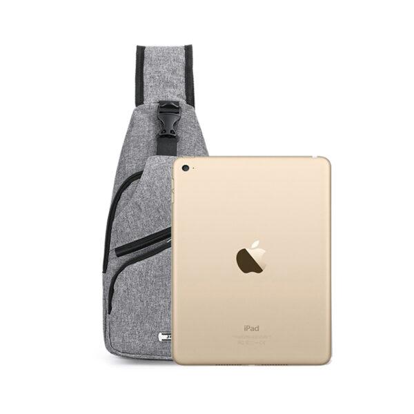 One Shoulder Leisure Messenger Backpack Chest Bag MFB06_6