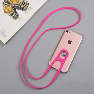 Universal Cell Phone Silicone Neck Hanging Lanyard Anti Theft Lost MPR01