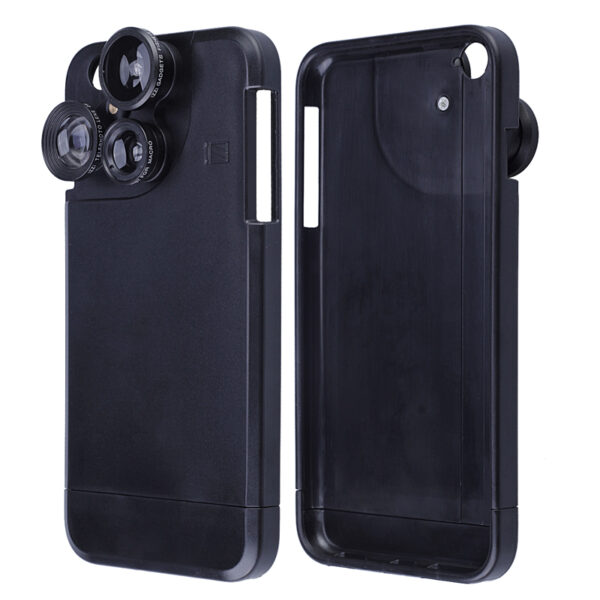 4 Functional Lens In One Case Cover For iPhone 8 7 6 6S Plus PHE06_3