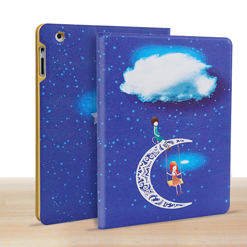 Best HD Painting 2017 2018 iPad 9.7 Inch Cases Covers IP7C02