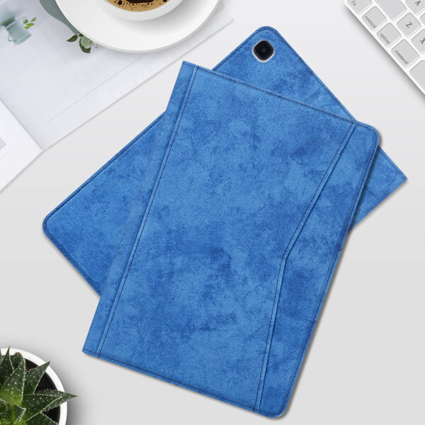 Best Samsung Galaxy Tab S7 S6 Leather Cover With Pen Slot SGTC04_2