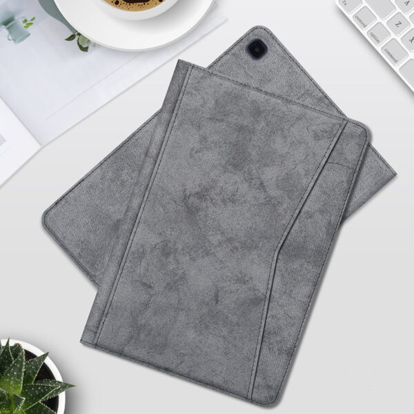 Best Samsung Galaxy Tab S7 S6 Leather Cover With Pen Slot SGTC04_3