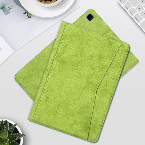 Best Samsung Galaxy Tab S7 S6 Leather Cover With Pen Slot SGTC04_4