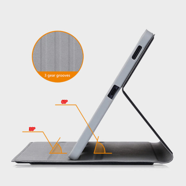 Best Samsung Galaxy Tab S7 S6 Leather Cover With Pen Slot SGTC04_8