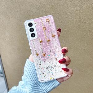 Best Glitter Decompression Case For Samsung S21 S20 S10 SG804