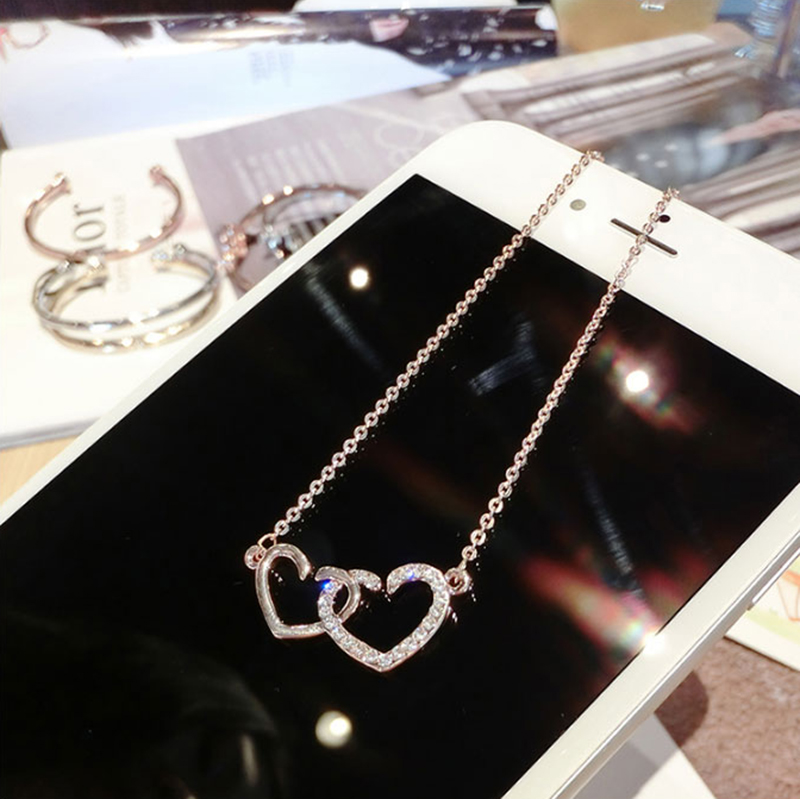 Fashion Elephant Horse Pearl Pattern Pendant Necklaces For Women NLC02_8