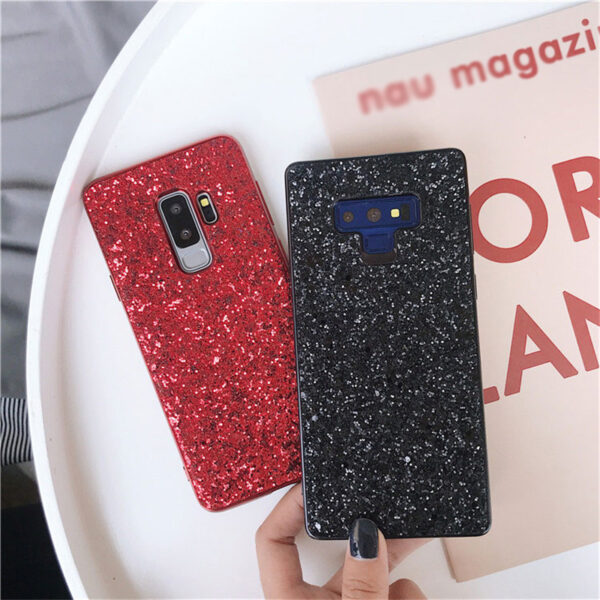 Glitter Case Cover For Samsung Note 9 8 S9 S8 S7 Edge Plus SG805_2