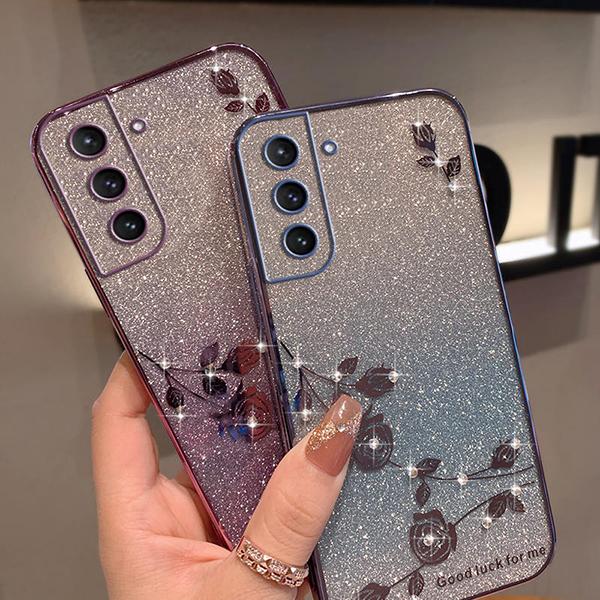 Glitter Case Cover For Samsung Note 9 8 S9 S8 S7 Edge Plus SG805_5