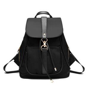Women's Canvas Casual Shoulder Backpack Girl's New Bag MFB07