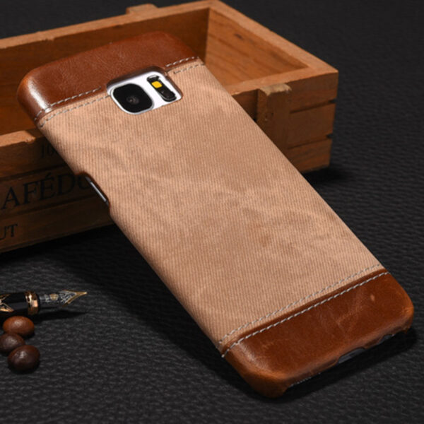 Leather Samsung S8 S7 S6 Edge Protective Case Cover SG806_2