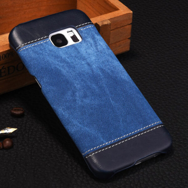 Leather Samsung S8 S7 S6 Edge Protective Case Cover SG806_3