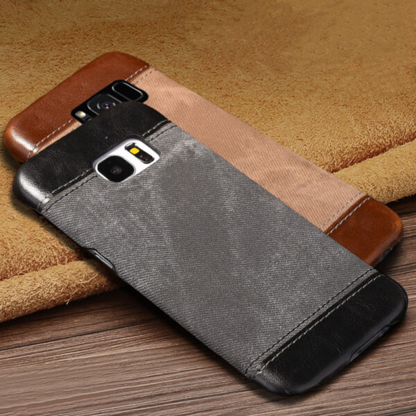 Leather Samsung S8 S7 S6 Edge Protective Case Cover SG806_6