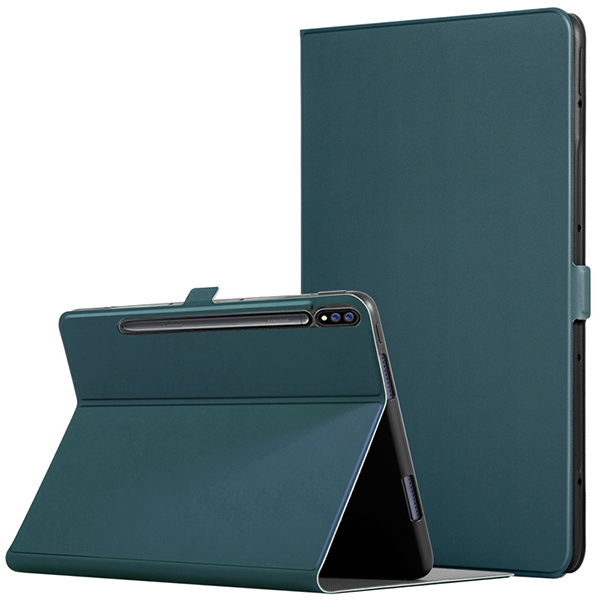 Leather Protective Samsung Tab S7 And Plus Case Cover SGTC05