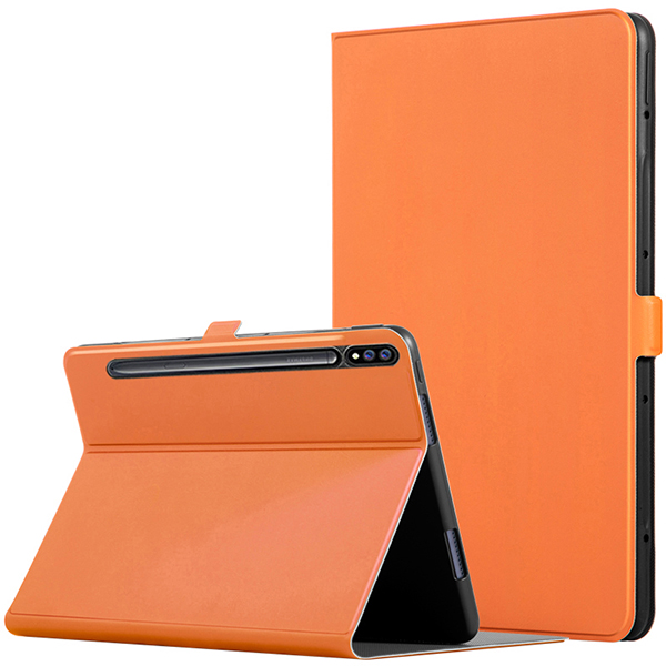 Leather Protective Samsung Tab S7 And Plus Case Cover SGTC05_3