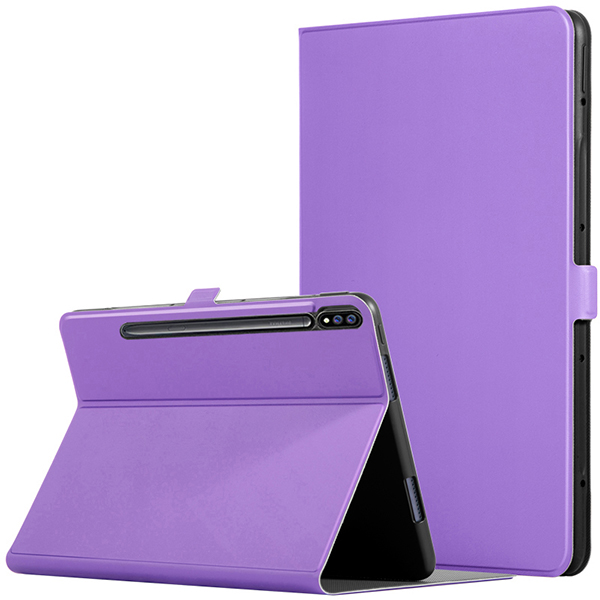 Leather Protective Samsung Tab S7 And Plus Case Cover SGTC05_4