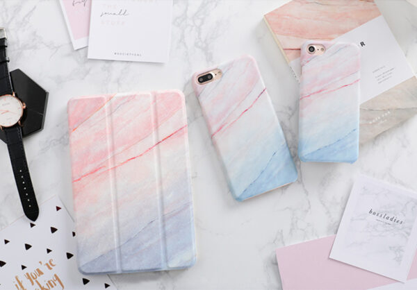 New Marble Pattern Case Cover For 2019 iPad Mini Air Pro IPCC12_2