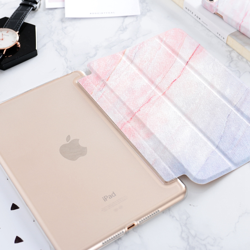 New Marble Pattern Case Cover For 2019 iPad Mini Air Pro IPCC12_4