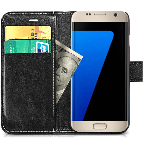 Protective Leather Case Cover For Samsung S8 Plus S7 S6 Edge SG807_7