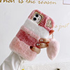 Luxury Plush Soft Cover For iPhone 12 11 XS Max For Girl IPS713