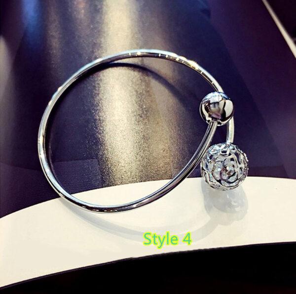 Simple Open Jewelry Bracelet For Women Girl As Gift NLC07_4