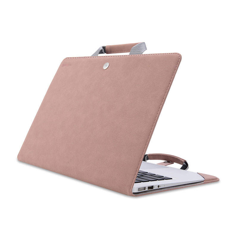 Leather Surface Laptop Book Pro 6 5 4 3 Protective Bag Cover SPC09_3