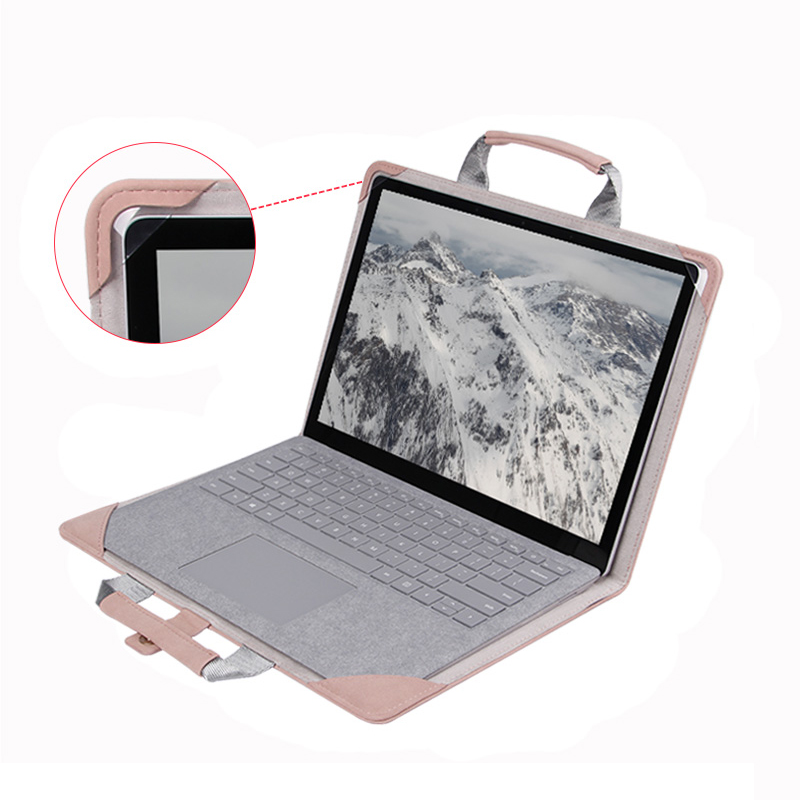 Leather Surface Go Pro 6 5 4 Protective Cover With Free Pen Cap SPC09_5