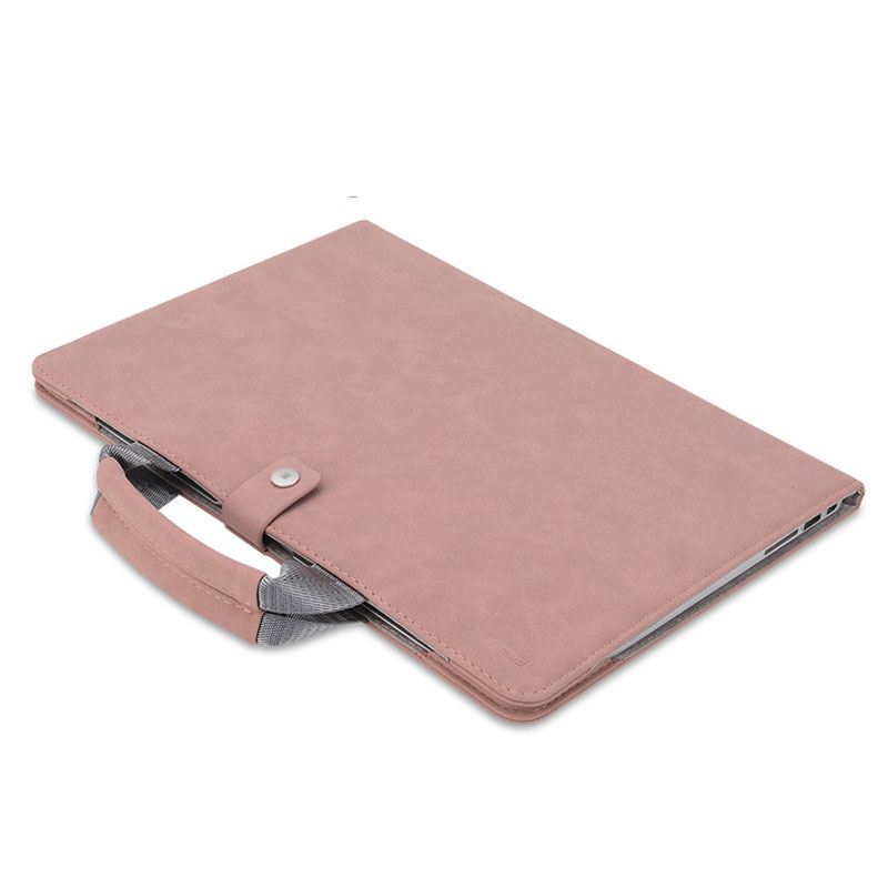 Leather Surface Laptop Book Pro 6 5 4 3 Protective Bag Cover SPC09_6