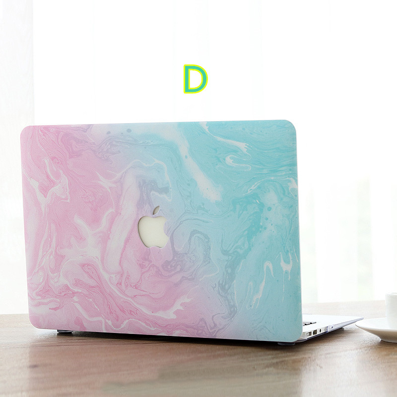 Marble Pattern Cover For Macbook 12 Air Pro 11 13 15 Touch MB1206_4