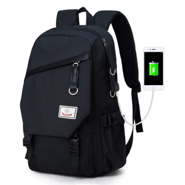 Night Light Pattern With Charge Port Travel Leisure Student Backpack MFB09_2