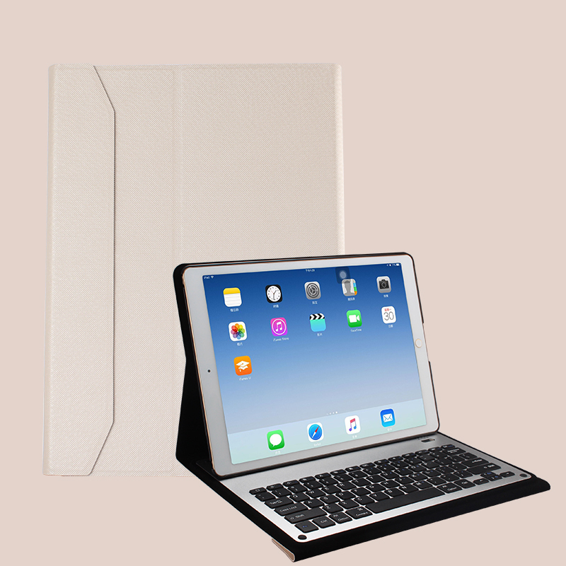 Protective Leather Case With Keyboard For iPad 2017 Air 2 iPad Pro 9.7 12.9 Inch IPCK06_2