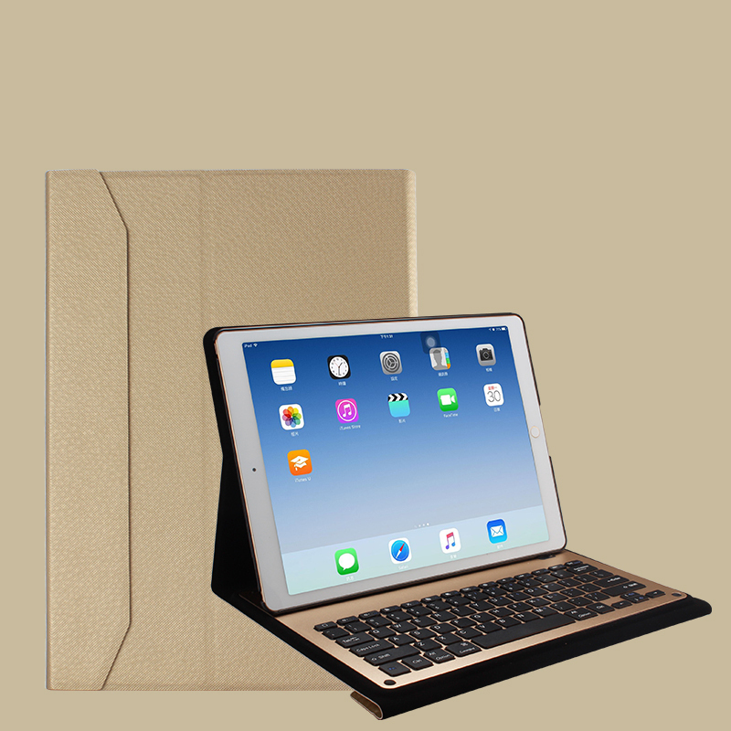 Protective Leather Case With Keyboard For iPad 2017 Air 2 iPad Pro 9.7 12.9 Inch IPCK06_3