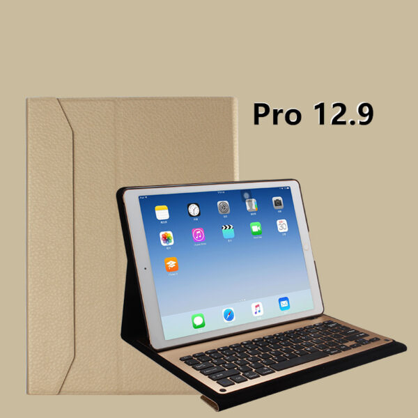 Protective Leather Case With Keyboard For iPad 2017 Air 2 iPad Pro 9.7 12.9 Inch IPCK06_5