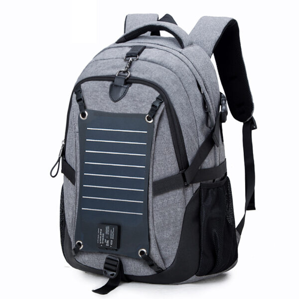 Solar Charge Backpack For Phone Business Travel Bag MFB08_3