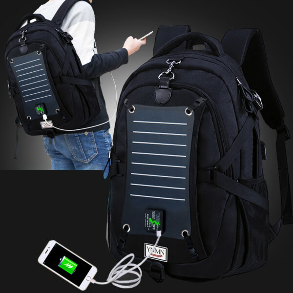 Solar Charge Backpack For Phone Business Travel Bag MFB08_5