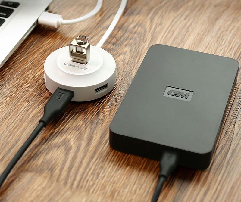 USB 2.0 Type C Splitter 4 USB 2.0 Ports Hub MBC02_7