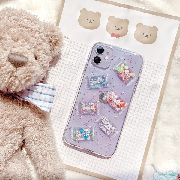 3D Stereo Cartoon Candy Case For Samsung S21 20 10 9 8 And Plus SG808
