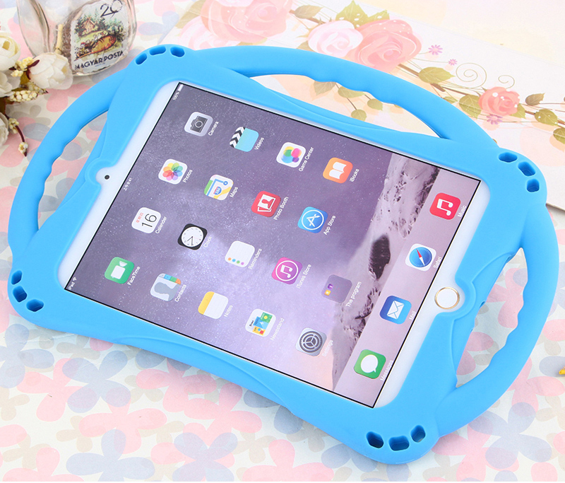 Anti Drop Protective Silicone Children Case For iPad Air 2 Pro 9.7 Inch IPFK07_2