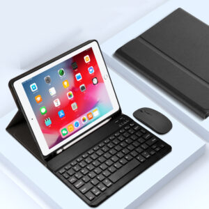 Protective Leather Keyboard With Cover For iPad Air Pro Mini New iPad IPCK07