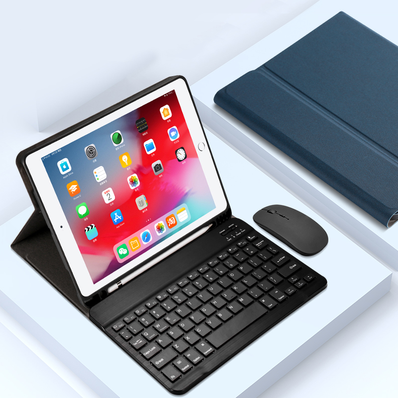 Protective Leather Keyboard With Case Cover For iPad Air 2 IPCK07_2