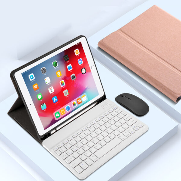 Protective Leather Keyboard With Case Cover For iPad Air 2 IPCK07_4